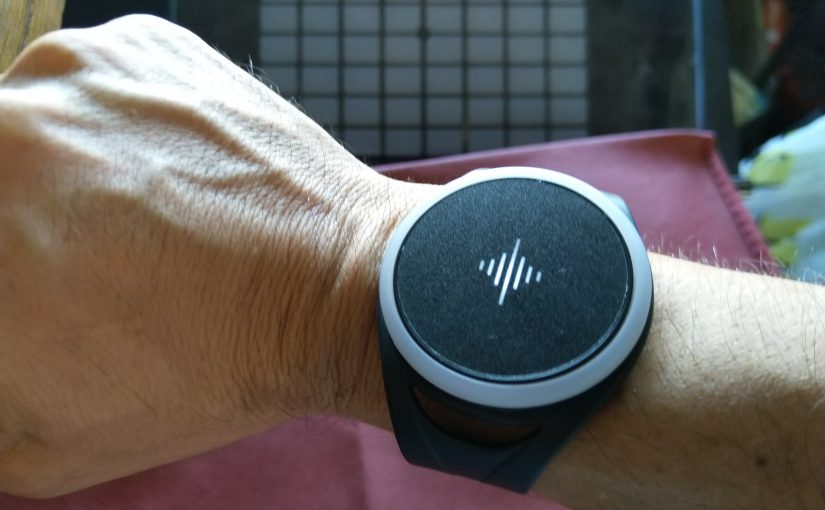 SoundBrenner Pulse wearable metronome, first impressions
