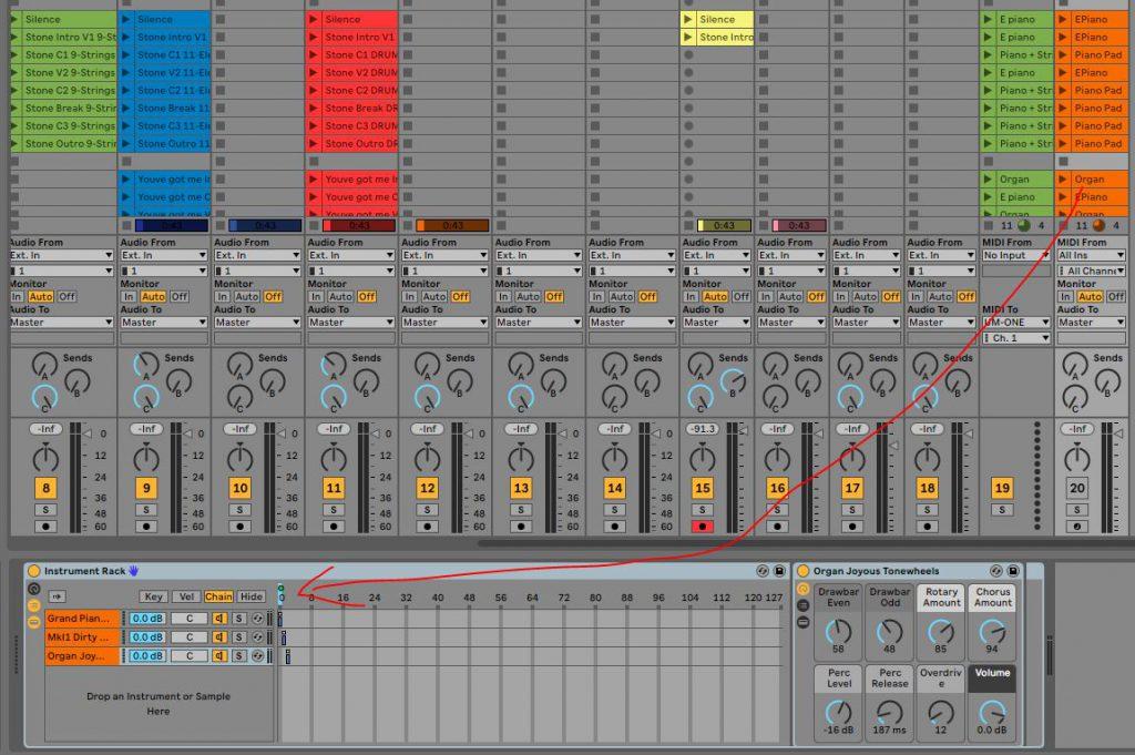 Live Instrument Rack