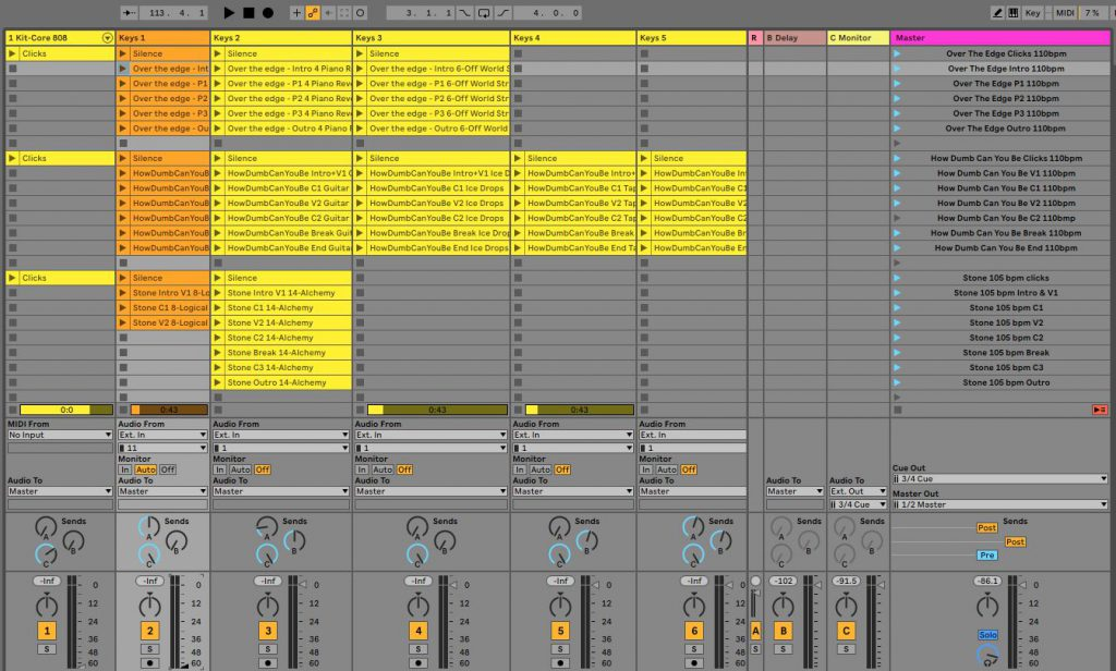Ableton Live live set