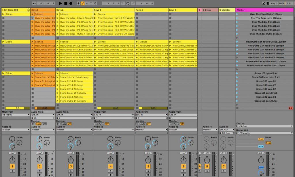 Ableton Live live set