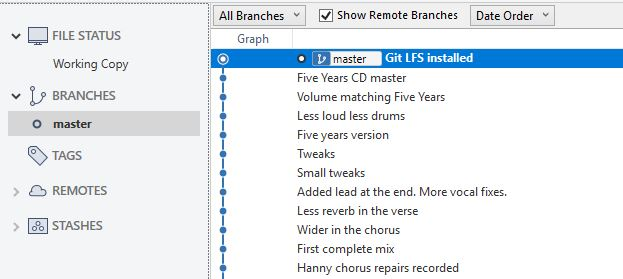 Commit Git LFS in SourceTree