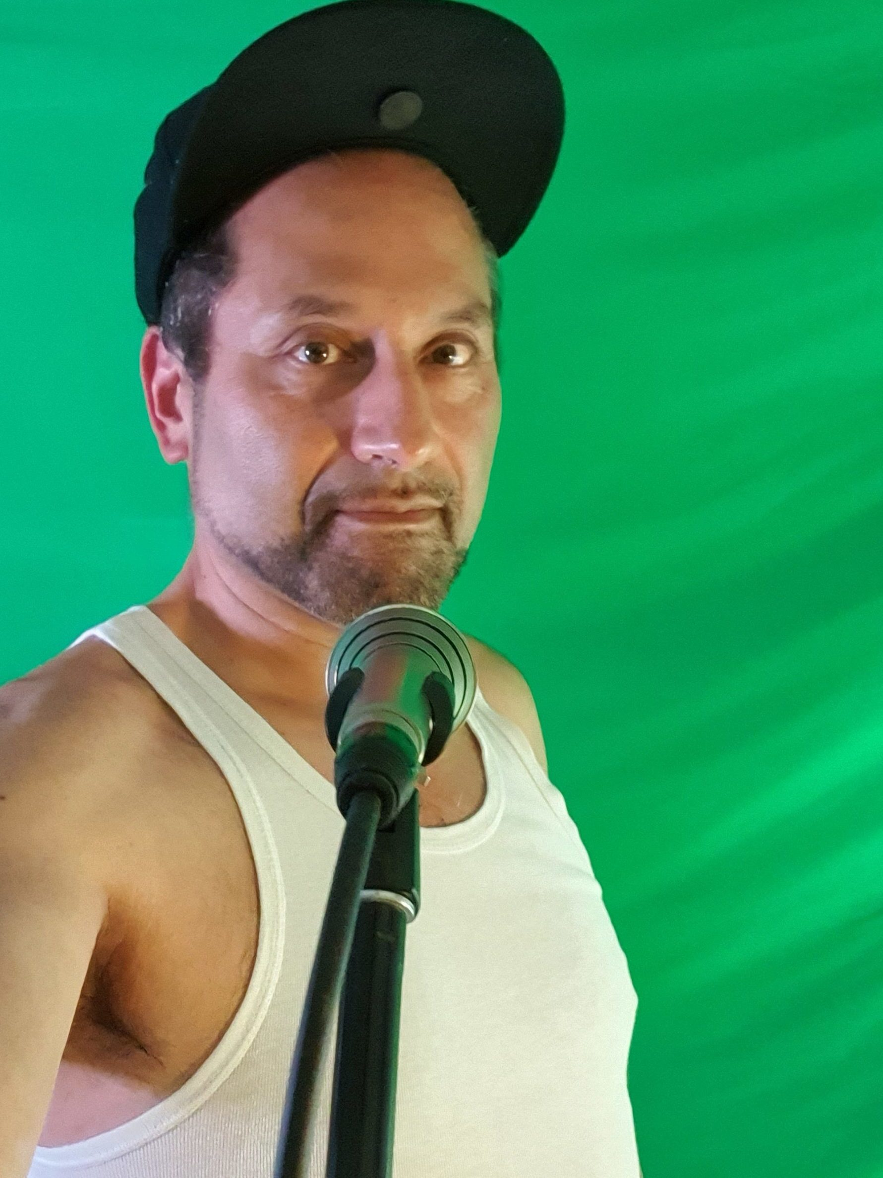 Green Screen selfie